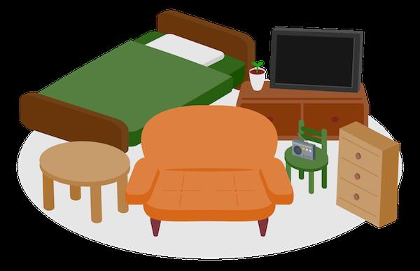 不要家具の処分